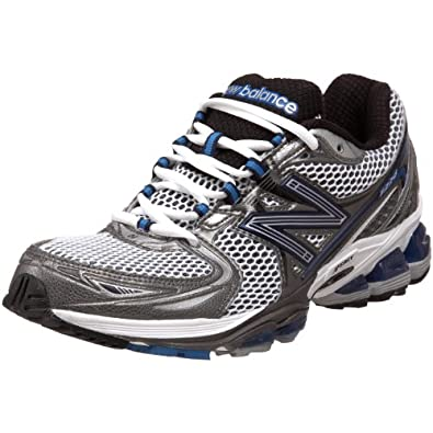 New Balance Men's MR1226 Running Shoe,Silver/Blue,9 D US