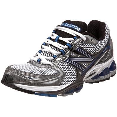 New Balance Men's MR1226 Running Shoe,Silver/Blue,8.5 D US
