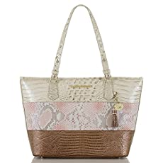 Medium Asher Tote<br>Pink Madera