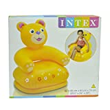 Nyrwana Intex Chair Teddy Inflatable Toy (yellow)