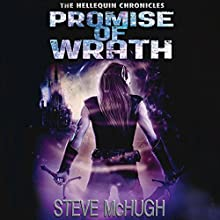 Promise of Wrath: Hellequin Chronicles, Book 6 Audiobook by Steve McHugh Narrated by Simon Mattacks