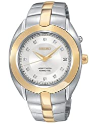Seiko Women's SKA890 Diamond Arctura Kinetic Watch