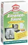 K2r Reine Zitronensäure, Pulver, 4er Pack (4 x 250 g)