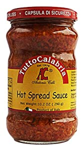 Tutto Calabria Hot Spread Sauce 10.2 Oz.