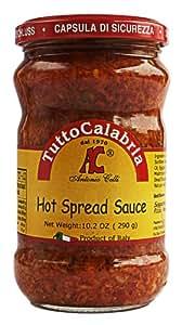 Tutto Calabria Hot Spread Sauce 10.2 Oz.
