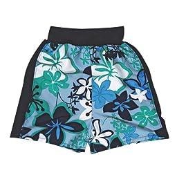 Splash About Happy Nappy Board Shorts (Large 6-14 months (10-15kg), Blue)