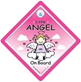 Little Angel On Board Little Angel Car Sign Angel On Board Baby on Board Sign baby on board Angel On Board Sign bumper sticker road sign decal baby sign baby car sign