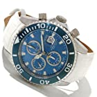 Invicta Reserve Men's 12182 Pro Diver Swiss Valjoux 7750 Automatic Chronograph Leather Strap Watch