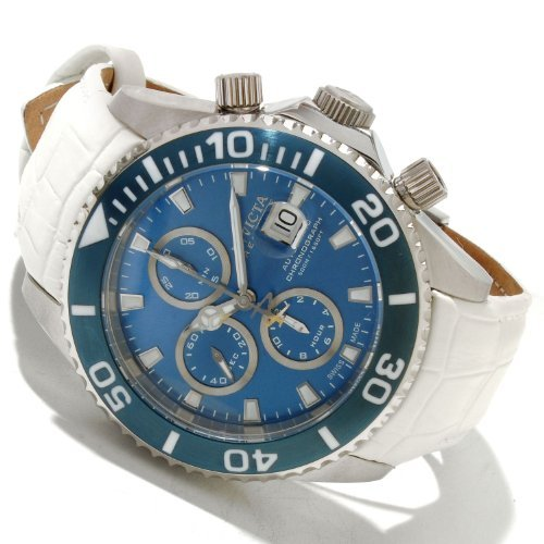 882c445bf Compare>> Invicta Reserve Men s 12182 Pro Diver Swiss Valjoux 7750 Automatic  Chronograph Leather Strap Watch !