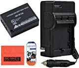 Big Mike'S Np-W126 Battery And Charger Kit For Fujifilm Finepix X-Pro1 X-A1 X-E1 X-E2 X-M1 Hs30Exr Hs33Exr Hs50Exr Digital Camera + More!!