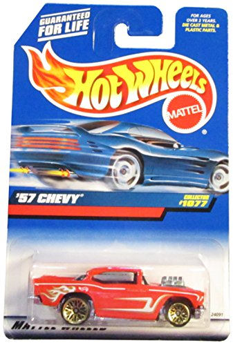 Hot Wheels 1999 '57 Chevy #1077 - 1