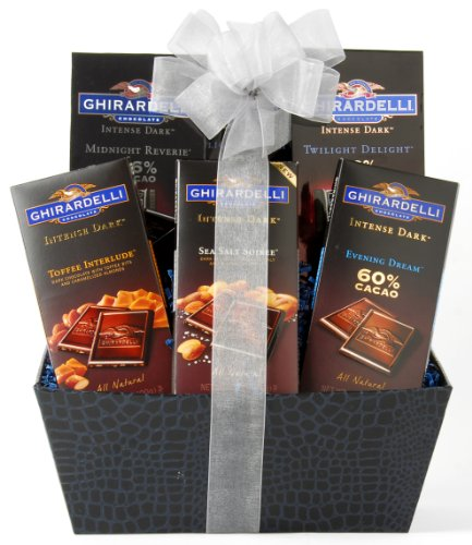 Wine.com Ghirardelli Intense Dark Chocolate Gift