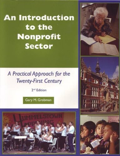 An Introduction to the Nonprofit Sector: A Practical...