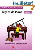 M�thode de piano Hal Leonard : Le�ons de piano, volume 2