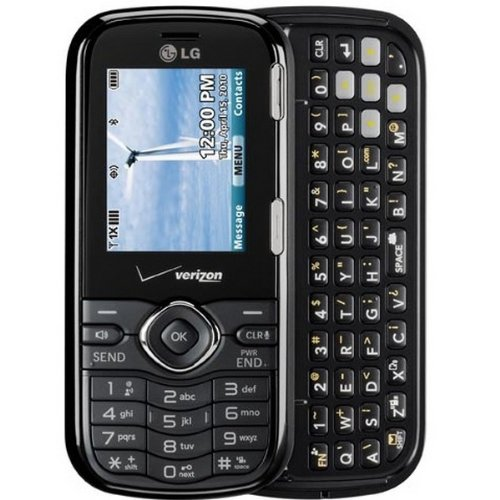 LG Cosmos VN250 Black No Contract No Data Verizon Cell Phone QWERTY Keyboard