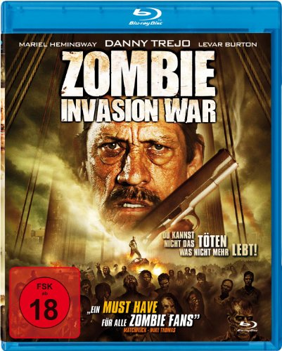 Zombie Invasion War [Blu-ray]