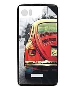 Techno Gadgets Back Cover sticker for Xolo Q700s