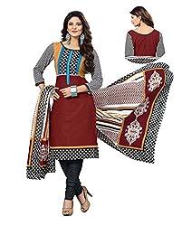 Kesar Sarees Women Cotton Dress Material (Bc-5052 _Multi-Coloured _Free Size)