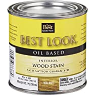 - W44N00803-12 Best Look Interior Wood Stain-WALNUT INT WOOD STAIN