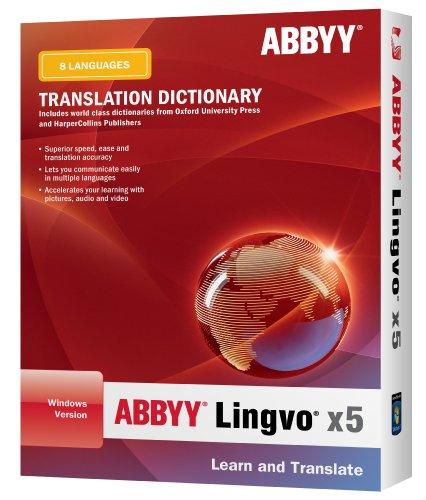 Abbyy Lingvo X5 Professional Edition 8 Languages