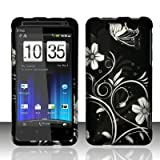Cell Phone Case Cover Skin for HTC Evo Design 4G - Sprint,US Cellular,Boost Mobile - White Flowers