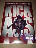 KICK ASS Original Cinema Int One Sheet Poster - HIT GIRL