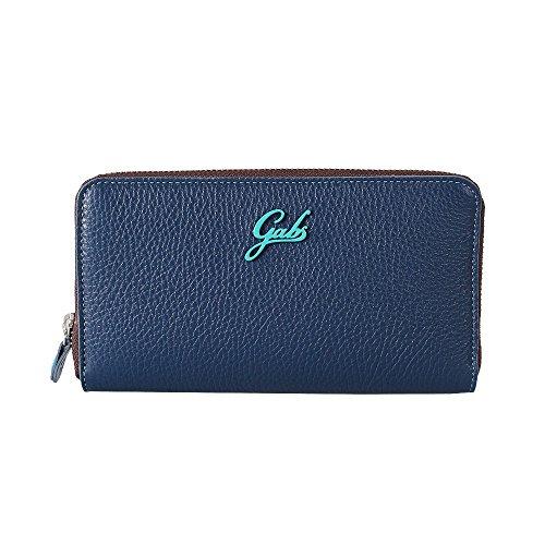 Gabs GMoney17 I16 portafoglio blu con scatola regalo