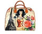 #3: FabSeasons PU Digital Printed Large Handheld Bag