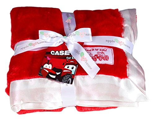 Case IH Red Baby Blanket - 1