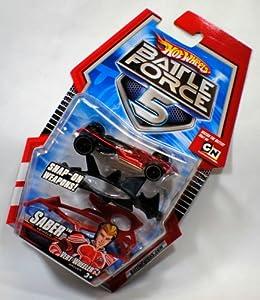 Amazon.com: Hot Wheels Battle Force 5 Saber Vehicle: Toys