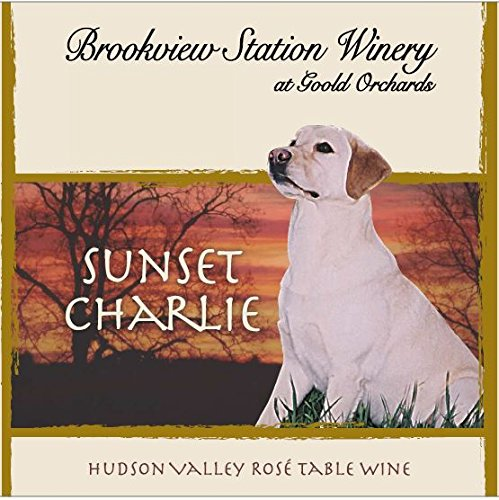 "Nv Brookview Station ""Sunset Charlie"" Blush 750 Ml"