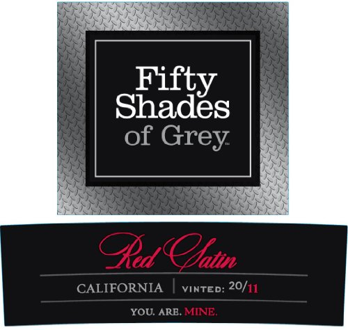 2011 Fifty Shades Of Grey Red Satin 750 Ml