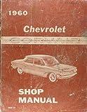 1960 Chevrolet Corvair Repair Shop Manual Original
