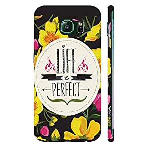 Samsung Galaxy Note5 Edge Perfection Is All I Need designer mobile hard shell case by Enthopia