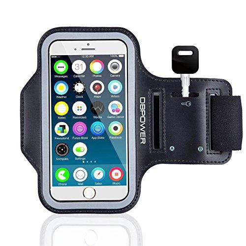 DBPOWER Armband-Brazalete deportivo para teléfono con sudor-Llavero
