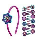 Disney Frozen Girls Headband and Barrette Hair Accessory Bundle