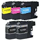 E-Z Ink Compatible Ink Cartridge Replacement for Brother LC-103(2 Black, 1 Cyan, 1 Magenta, 1 Yellow) 5 Pack Compatible With MFC-J4310DW MFC-J4410DW MFC-J4510DW MFC-J4610DW MFC-J4710DW MFC-J470DW MFC-J475DW MFC-J870DW MFC-J875DW DCP-J152W MFC-J245 MFC-J285DW