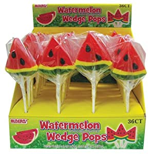 Watermelon Wedge Pop: 36 Count