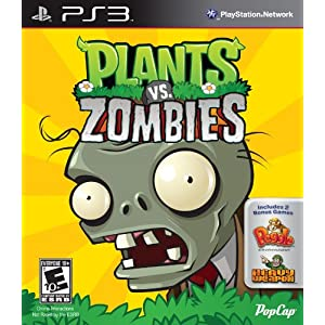 Plants Vs. Zombies Video Game for PS3