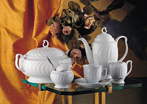 Couvercle de cafetière - 6 personnes blanc uni lénore de la marque seltmann weiden