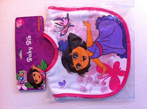 Dora The Explorer Baby Bib (Assorted Colors/Designs) front-1018011
