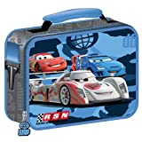 Disney Pixar Cars 2 RSN Soft Insulated Blue / Gray Lunch Bag