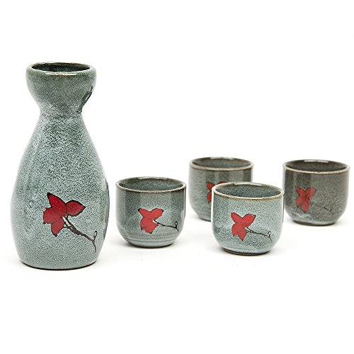 170ml-hand-painted-pottery-wine-cup-japanese-sake-set-with-four-cups-foggy-style