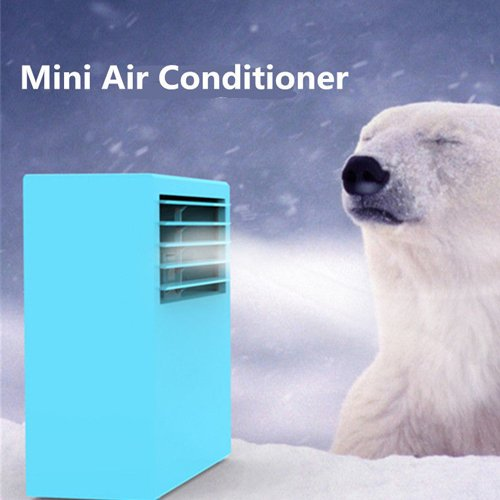 Portable Cheap Table Air Conditioner Air Conditioning Fan Touch Control 3 Speed by YJ-WorldTrade