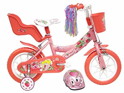 "12"" Childrens Fashion Girl Bicycle with FREE Helmet by Denver Srl. Italy"