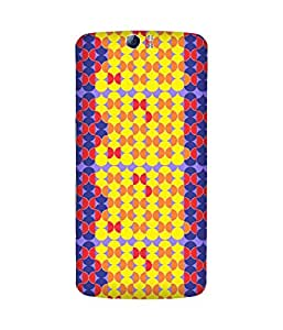 Stripes And Elephant Print-88 Oppo N1 Case