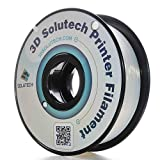 3D Solutech 1.75mm PLA 3D Printer Filament Natural Clear 1.1 LBS (0.5KG) - MADE IN USA