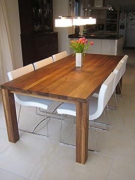 nussbaum esstisch platamus massiv dc528. Black Bedroom Furniture Sets. Home Design Ideas