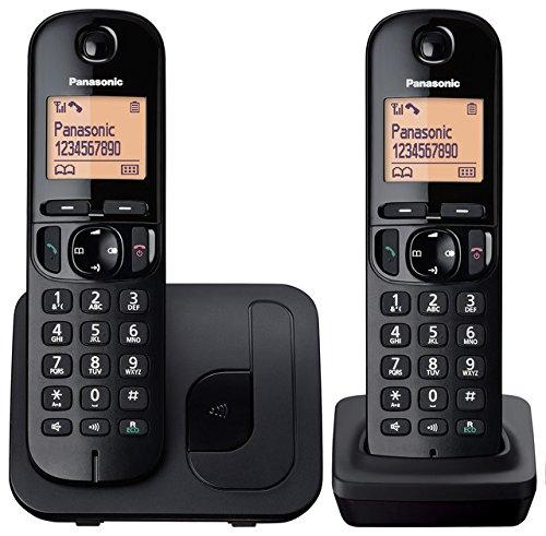 panasonic-kx-tgc212eb-digital-cordless-phone-with-lcd-display-two-handset-pack-black