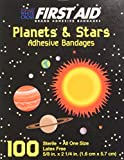 First Aid Children's Adhesive Bandages: Planets and Stars Aid